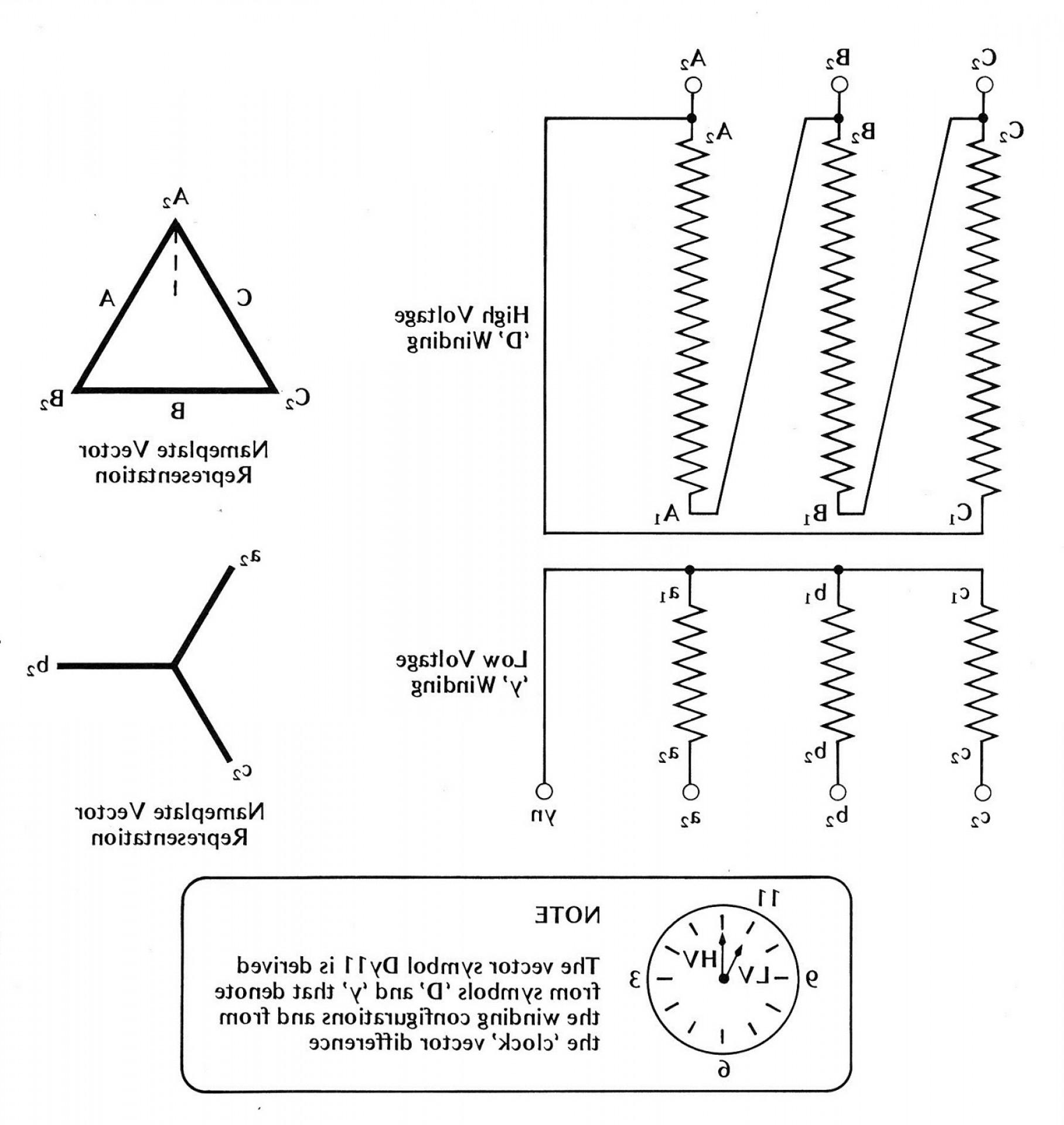 Single Phase Transformer Wiring Diagram Symbols For Three Phase - Single Phase Transformer Wiring Diagram