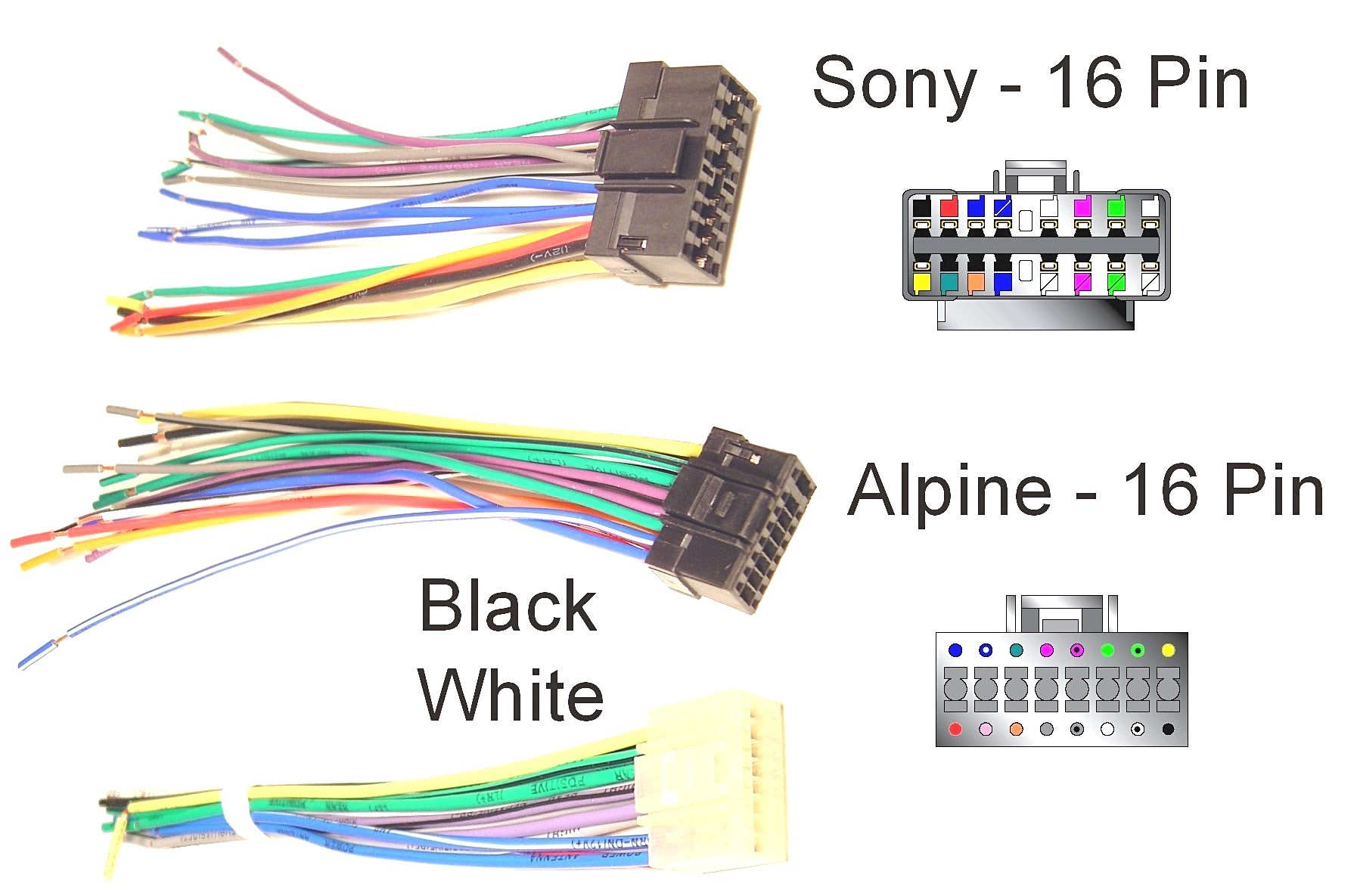 Sony Xplod Car Stereo Wiring Diagram from 2020cadillac.com