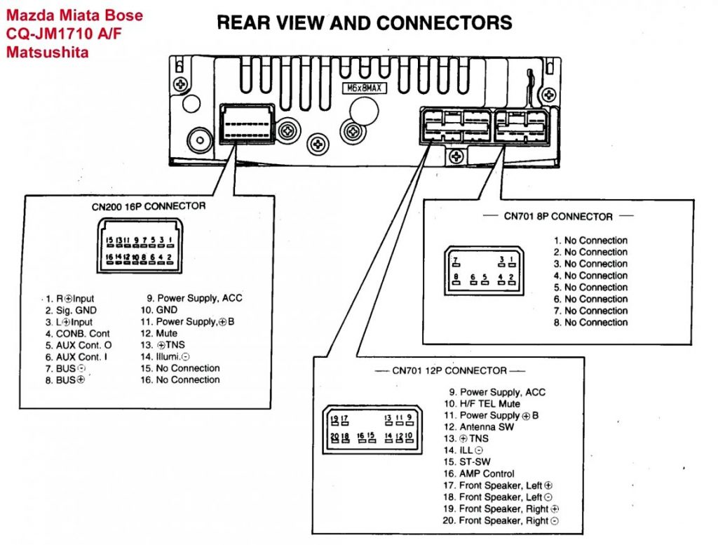 Sony Xplod Deck Wiring Diagram