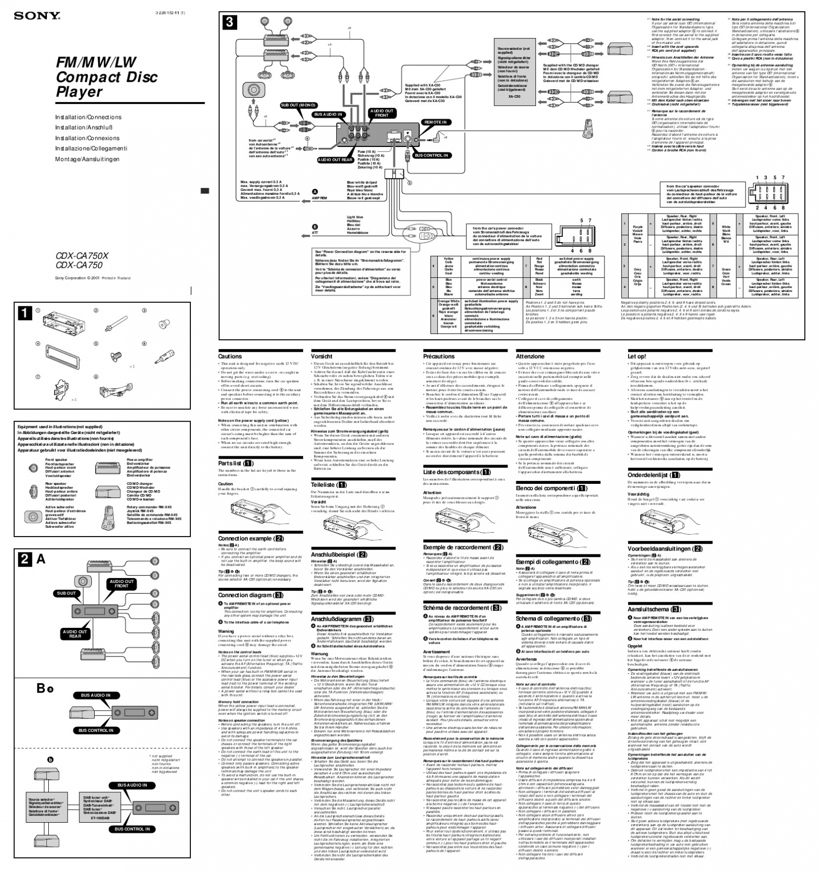 Sony Xplod Cd Player Wiring Diagram from 2020cadillac.com