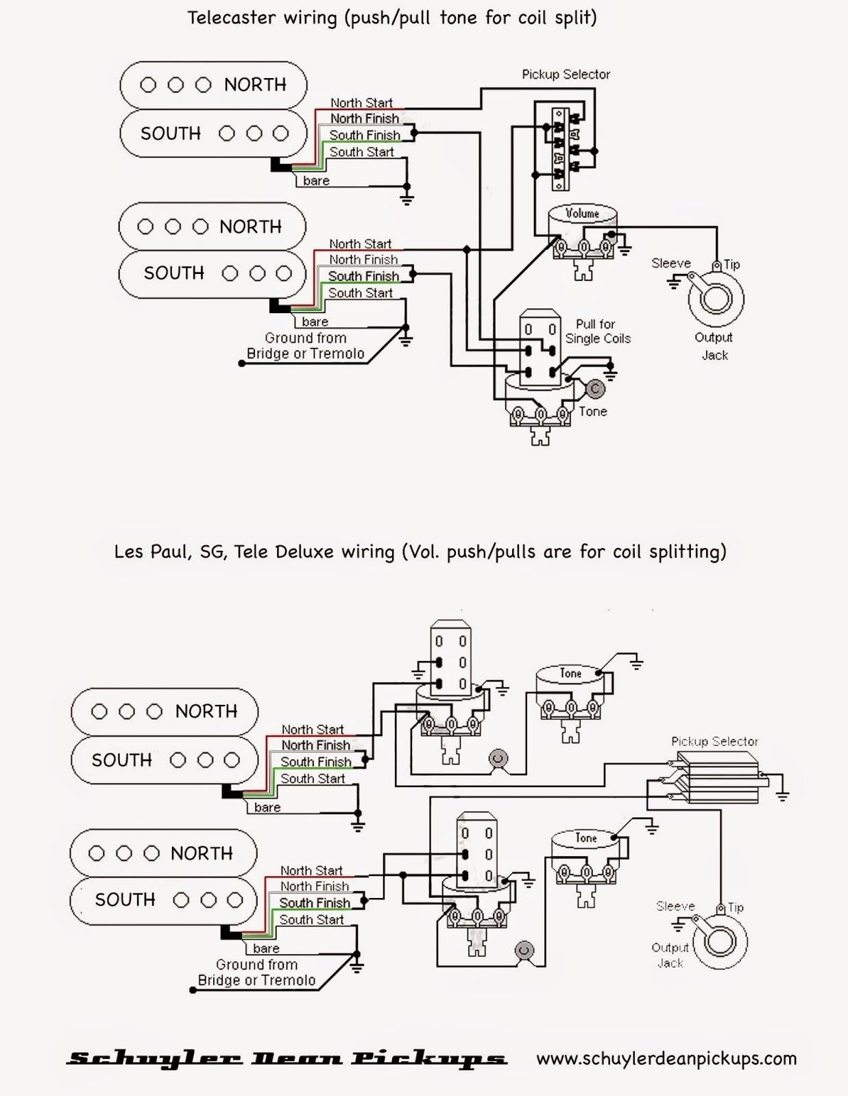 Split Coils Wiring Diagram For A Les Paul | Wiring Diagram - Coil Split Wiring Diagram