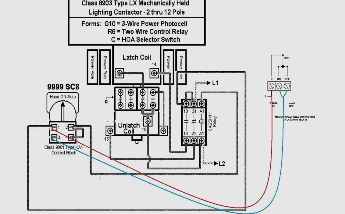Square D Motor Starters Wiring Diagram