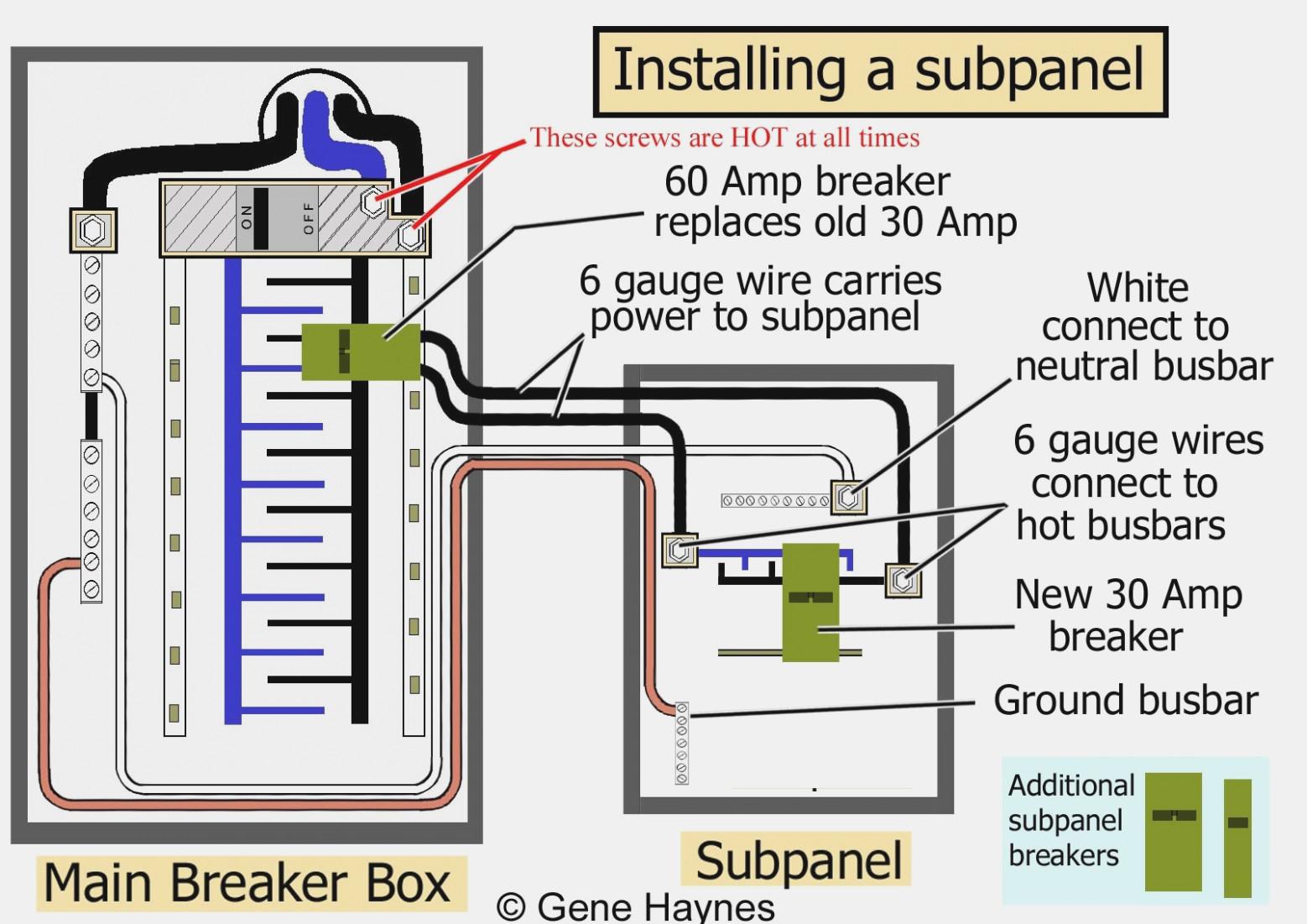 Square D 100 Amp Panel Wiring Diagram   Wiring Diagram - Square D 100 Amp Panel Wiring Diagram