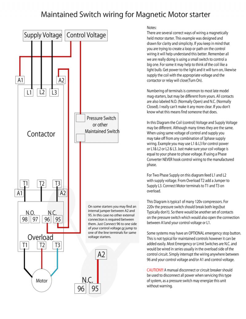 Square D 3 Phase Motor Starter Wiring Diagram   Wiring Diagram - 3 Phase Motor Starter Wiring Diagram