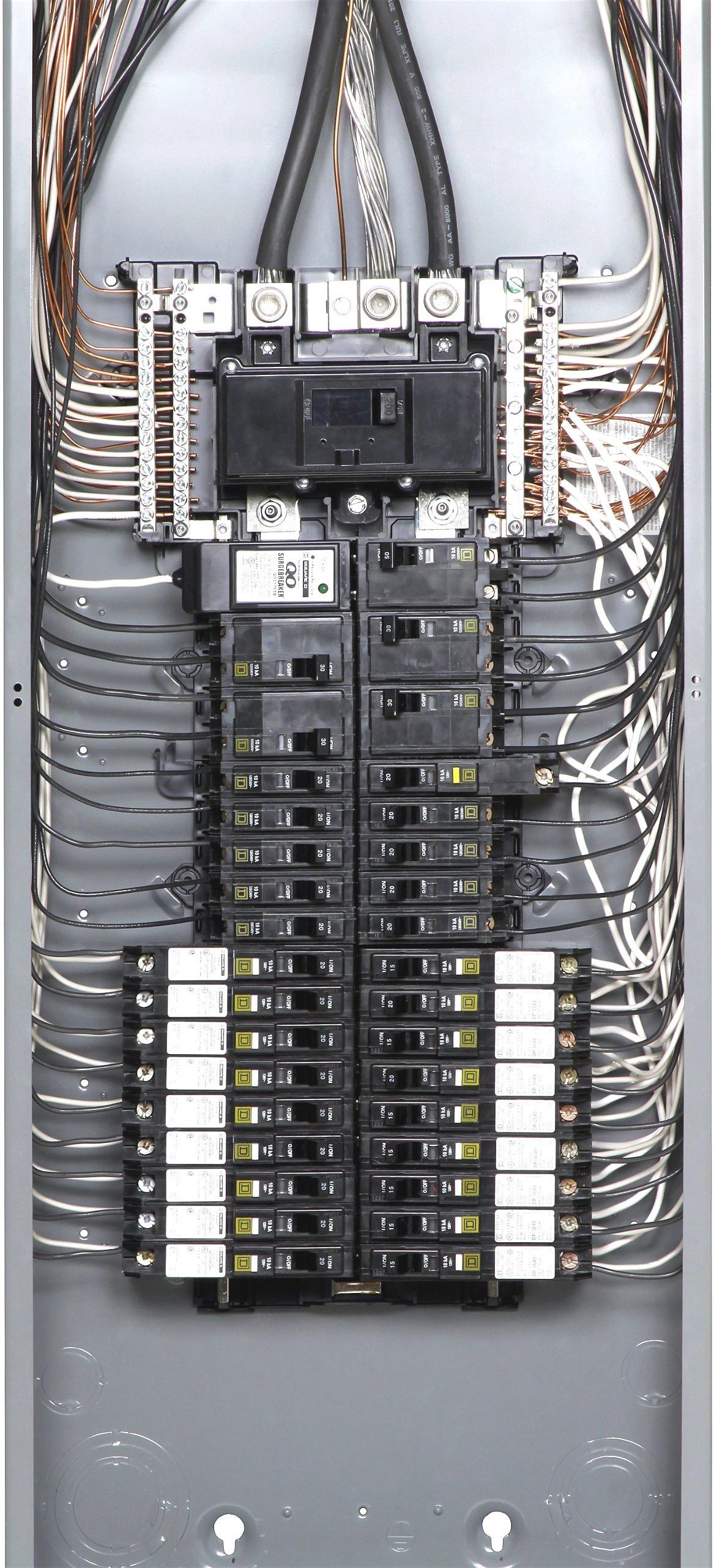 Square D Individual Subpanels Qo2L30Scp 64 1000 Load Center Wiring - Square D Load Center Wiring Diagram