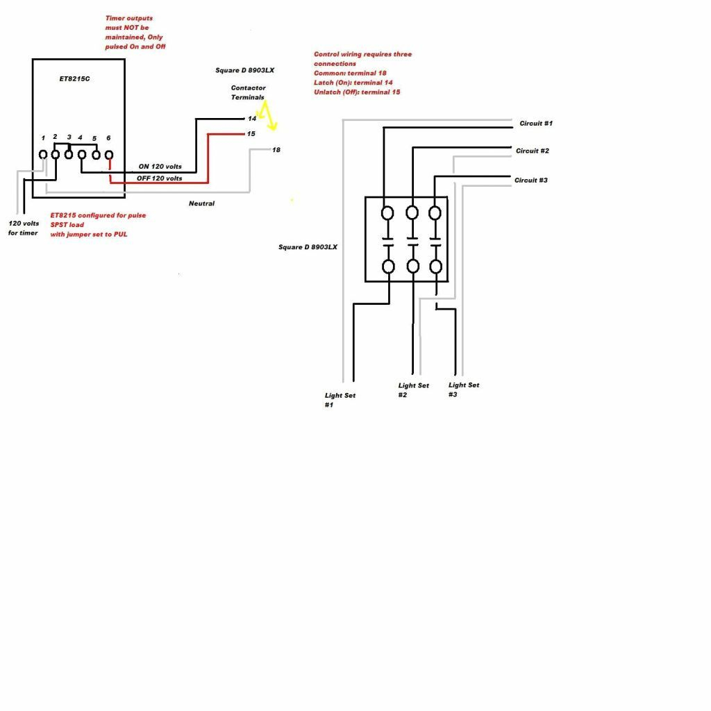 Square D Lighting Contactor Class 8903 Wiring Diagram | Wiring Diagram - Square D 8903 Lighting Contactor Wiring Diagram