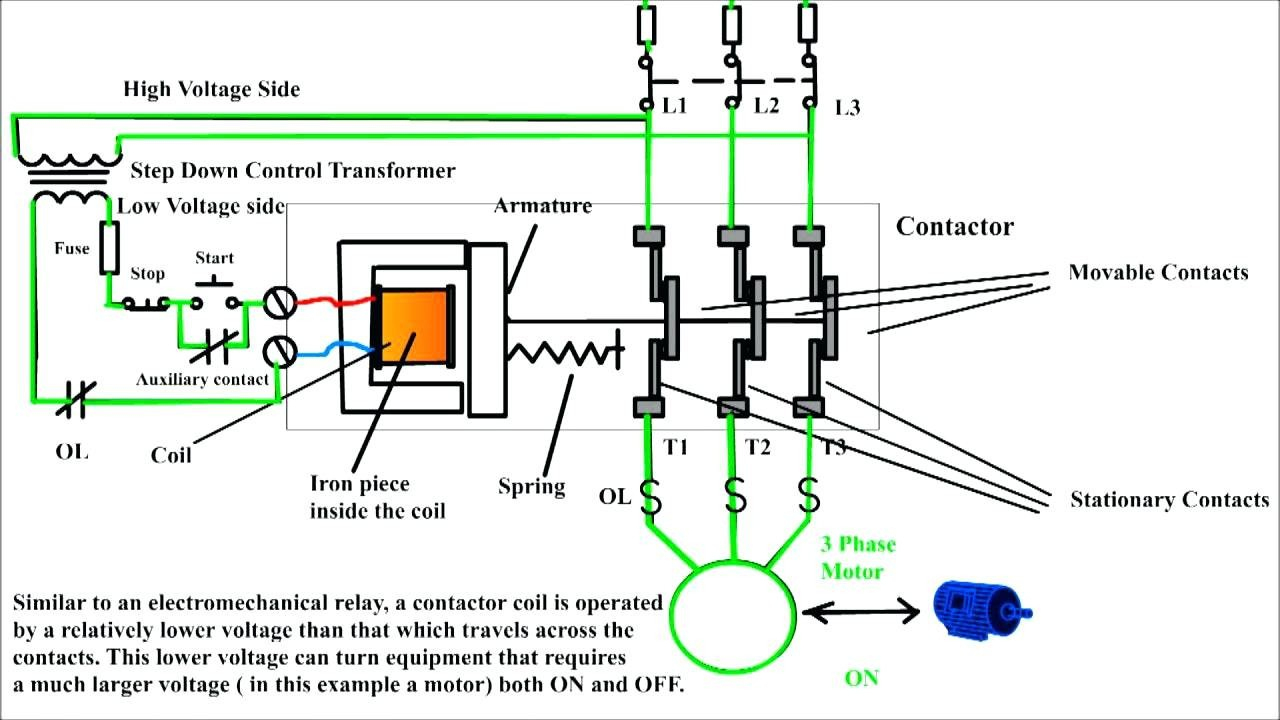 Square D Motor Starter Wiring Diagram With Schneider Electric And - Square D Motor Starter Wiring Diagram