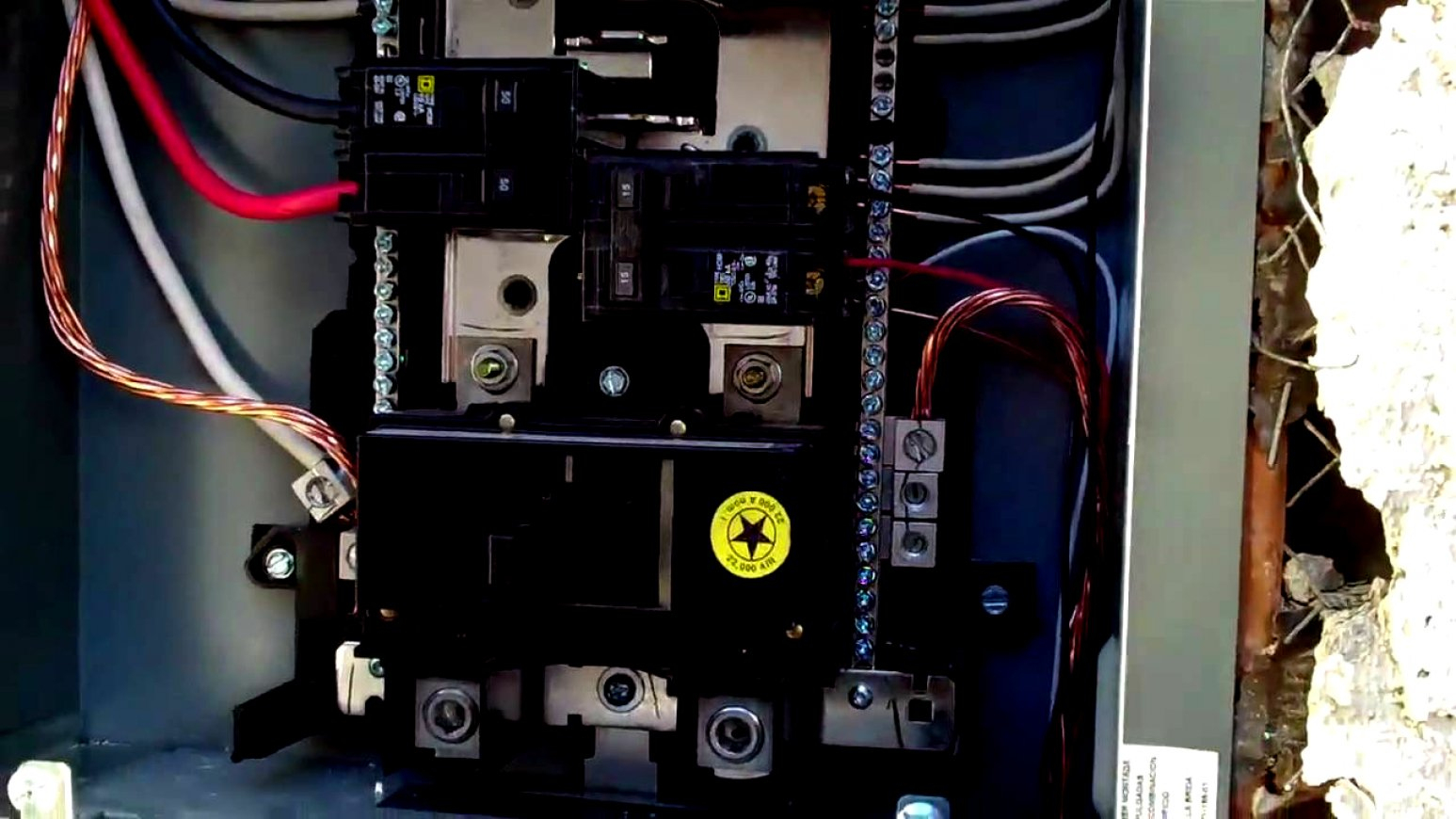 Square D Panel Breaker Box Wiring Diagram - Trusted Wiring Diagram - Square D Breaker Box Wiring Diagram