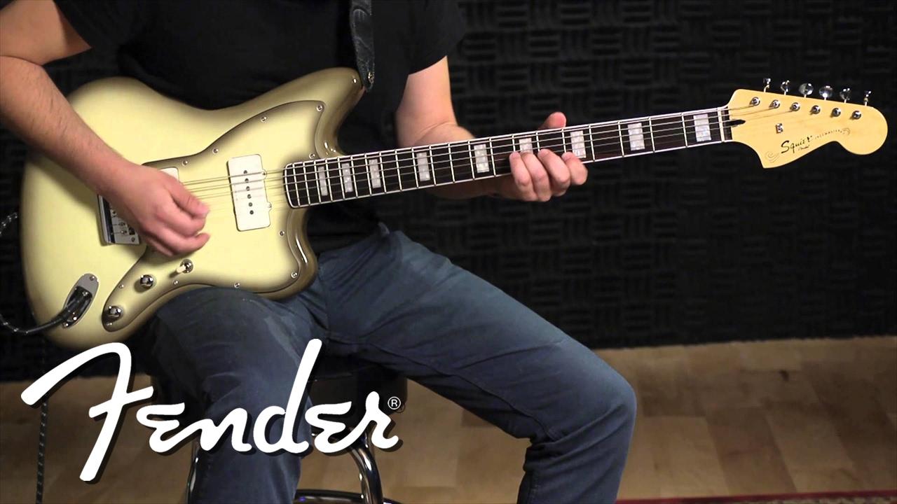 Squier Vintage Modified Baritone Jazzmaster | Fender - Youtube - Jazzmaster Wiring Diagram