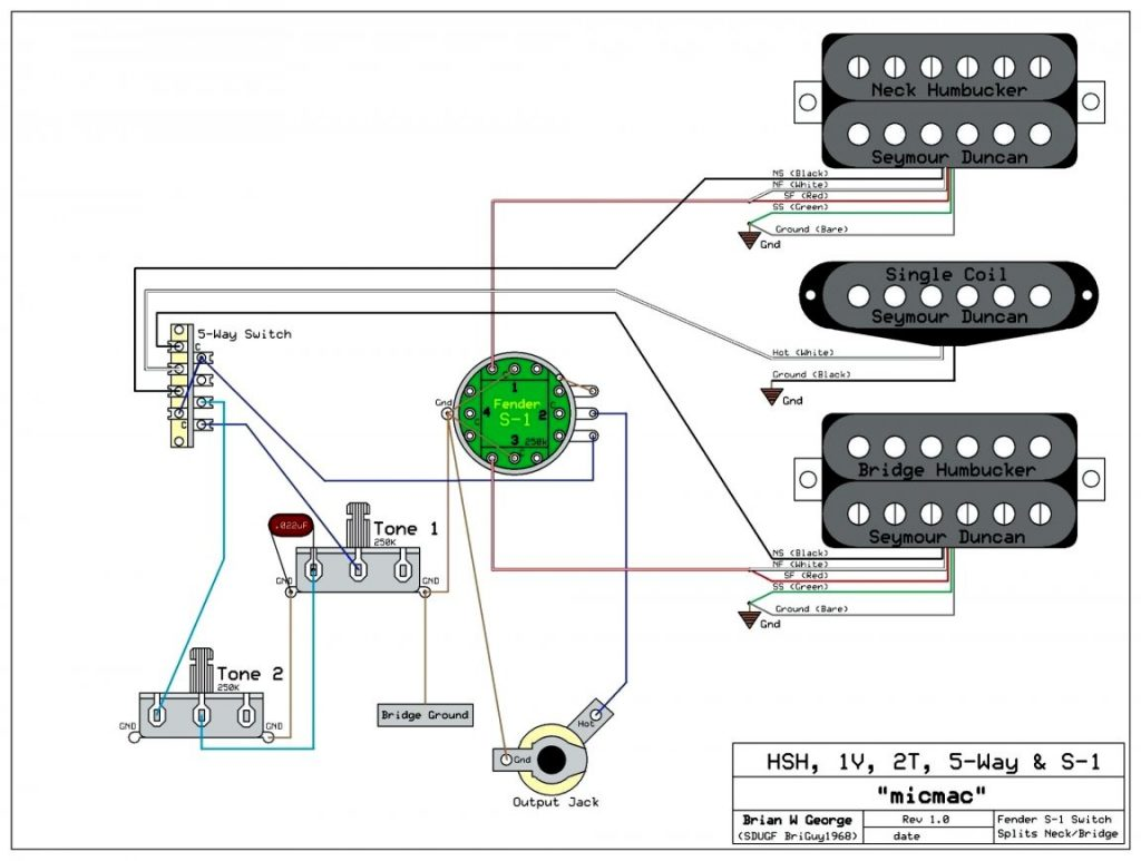 Sss Active B Pickup Wiring Diagram