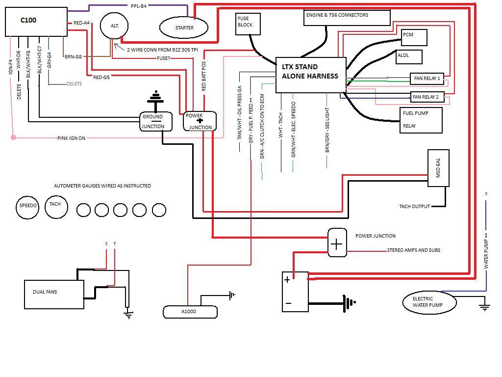 Standalone Lt1 Wiring Harness Diagram | Manual E-Books - Ls Standalone Wiring Harness Diagram