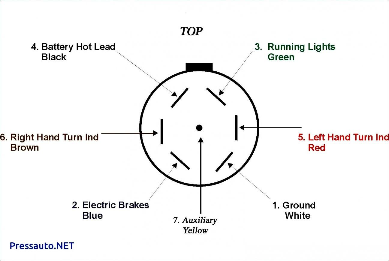 Standard Trailer Wiring Diagram   Wiring Diagram - 7 Way Trailer Plug Wiring Diagram Chevy