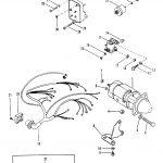 Starter Motor And Wiring Harness For Mercruiser 165   Starter Motor Wiring Diagram