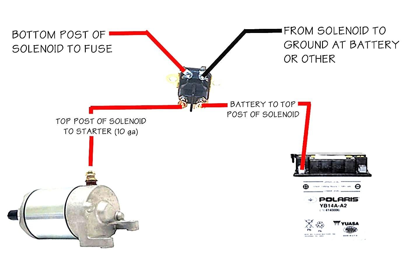 Starter Solenoid Wiring Diagram Starter Solenoid Wiring Diagram - Gm Starter Solenoid Wiring Diagram