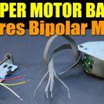 Stepper Motor Basics   4 Wires Bipolar Motor   Youtube   4 Wire Motor Wiring Diagram