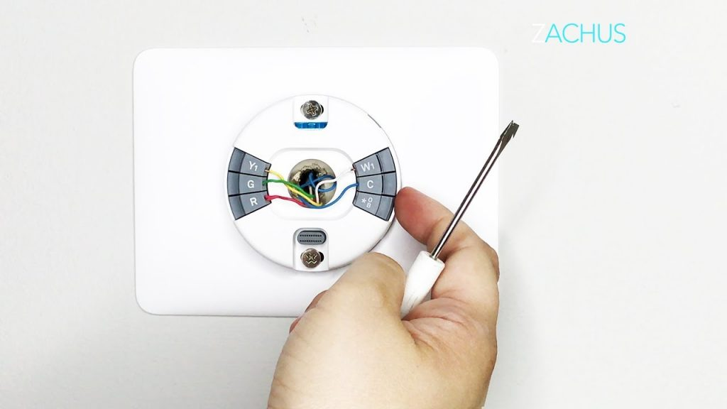 Stepstep Install Of The New Nest Thermostat E
