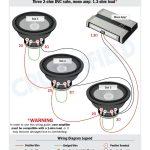 Subwoofer Wiring Diagram Dual 4 Ohm Fresh Subwoofer Wiring Diagrams   Subwoofer Wiring Diagram Dual 4 Ohm