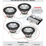 Subwoofer Wiring Diagrams — How To Wire Your Subs   4 Ohm Dual Voice Coil Wiring Diagram