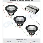 Subwoofer Wiring Diagrams — How To Wire Your Subs   4 Ohm Wiring Diagram