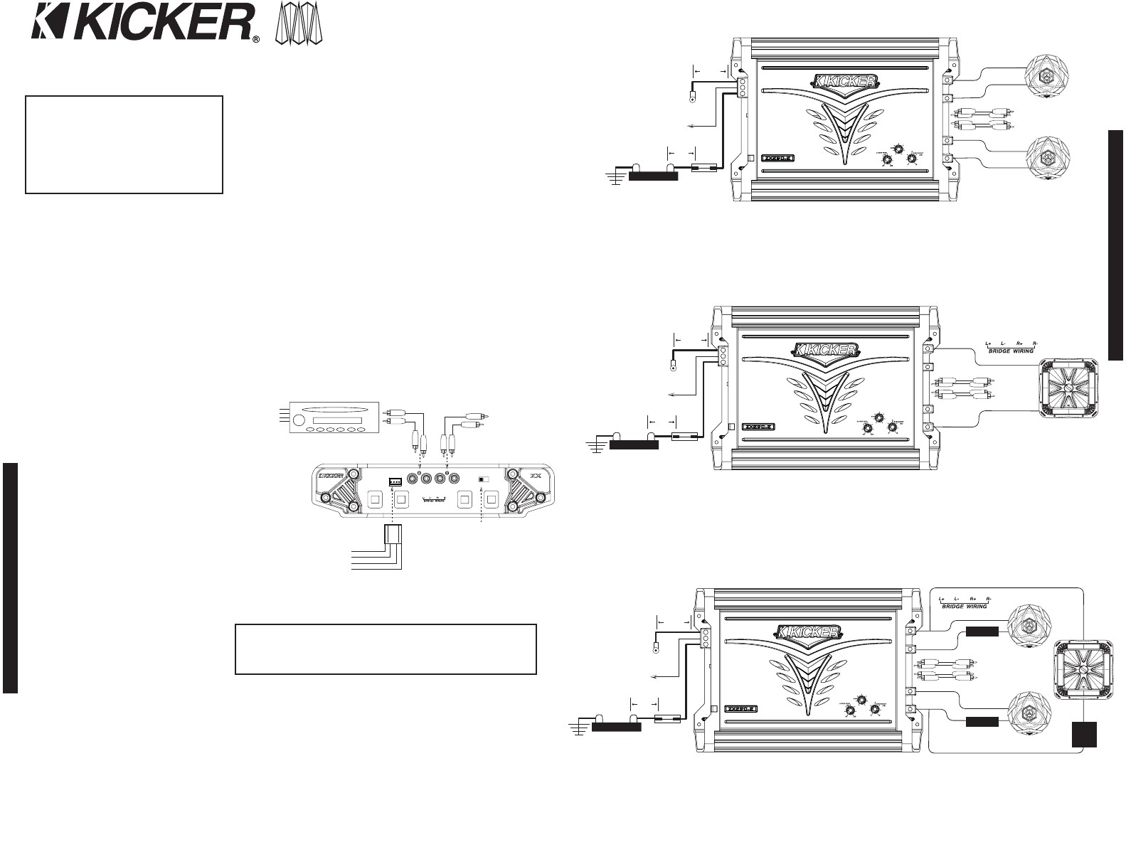Subwoofer Wiring Diagrams Within Kicker Comp 12 Diagram In - Kicker Wiring Diagram