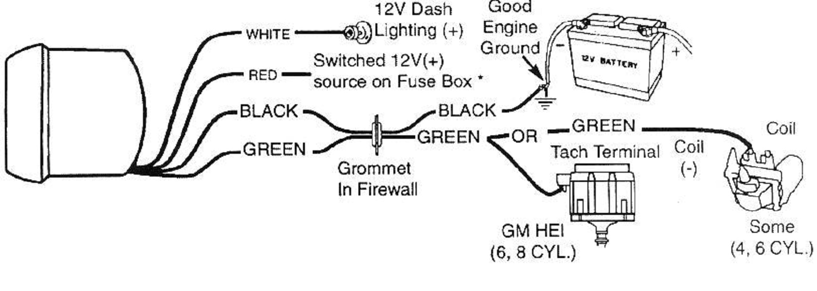 Sunpro Tach Wiring - Data Wiring Diagram Site - Sunpro Tach Wiring Diagram