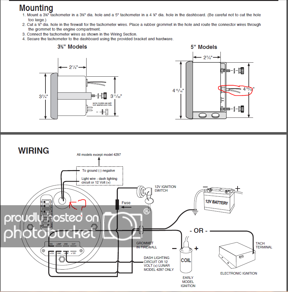 Sunpro Tach Wiring | Manual E-Books - Sunpro Tach Wiring Diagram