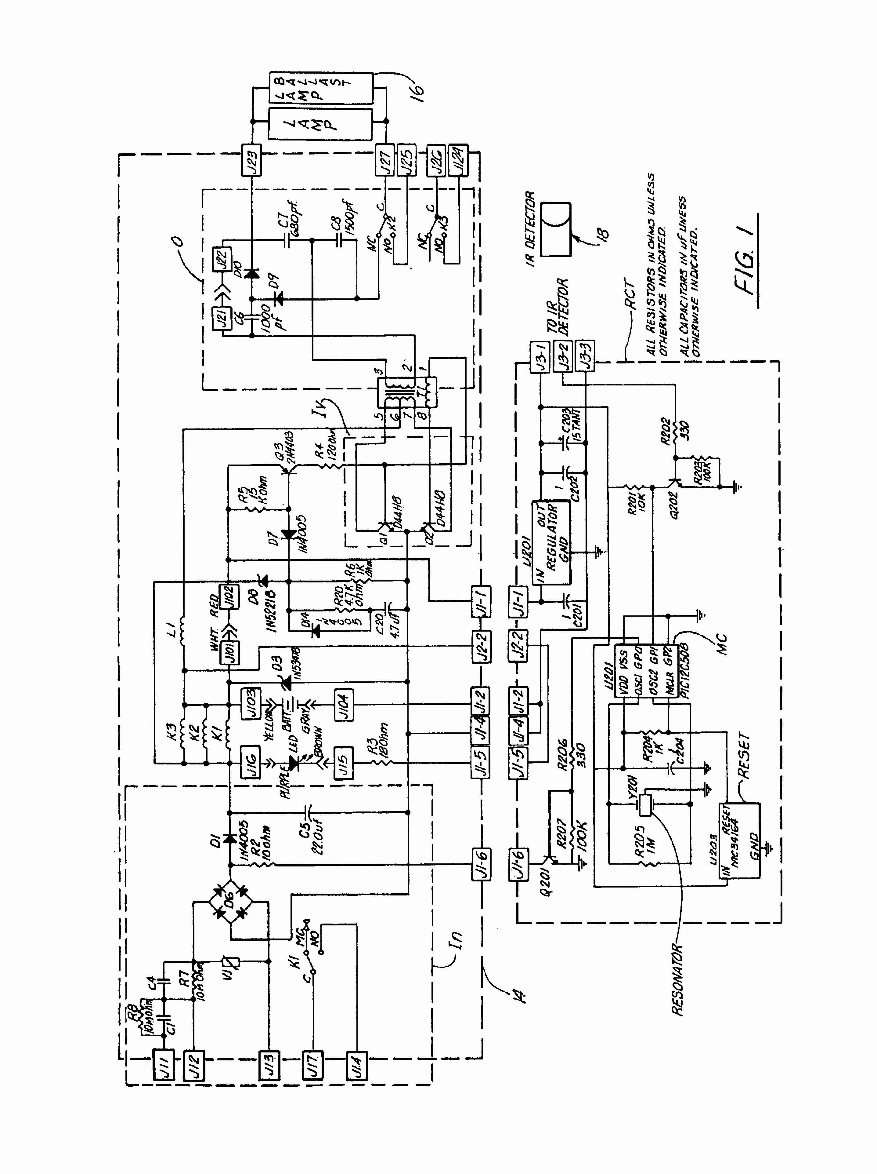 Sylvania Quicktronic Ballast Wiring Diagram Fresh T8 Electronic - Ballast Wiring Diagram