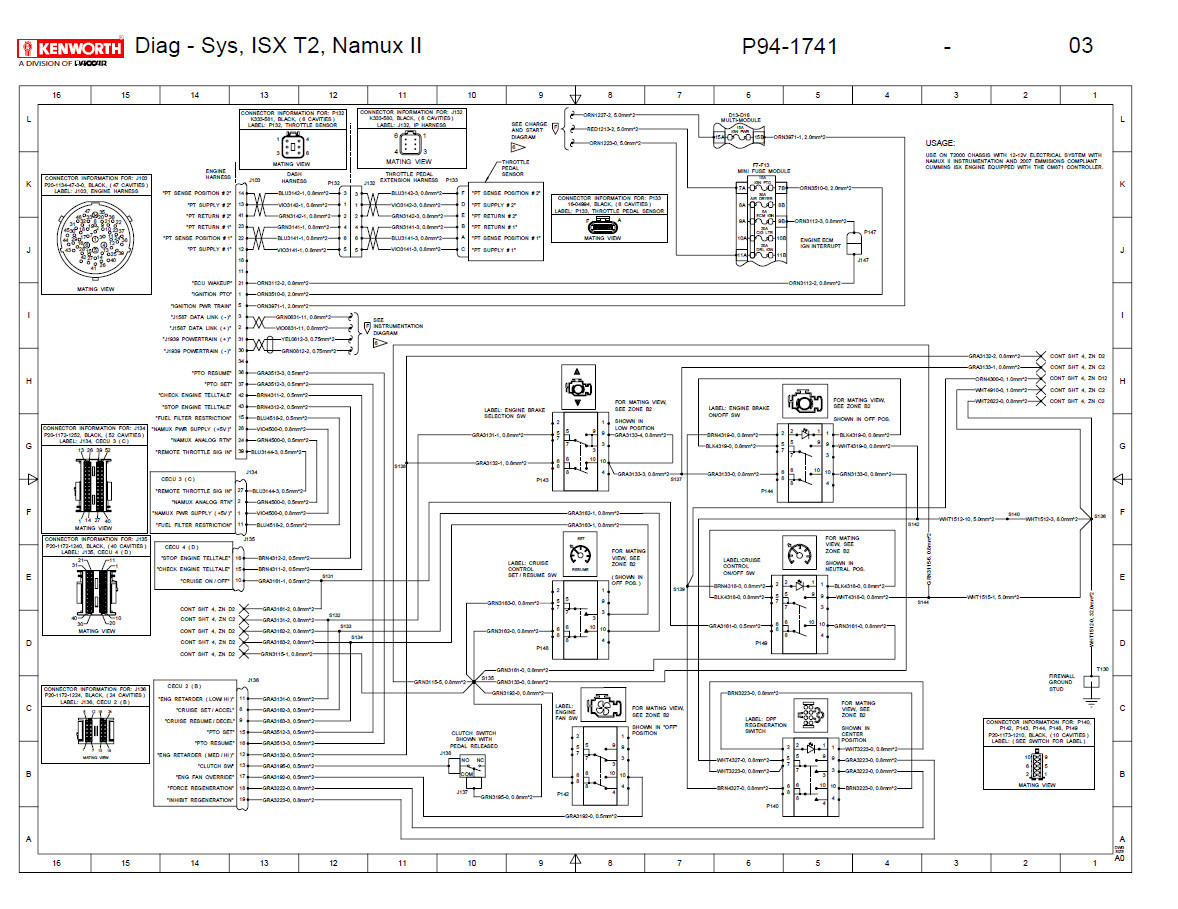 Kenworth Wiring Diagram Pdf
