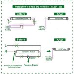 T8 Led Tube Wiring Diagram | Manual E Books   Wiring Diagram For Led Tube Lights