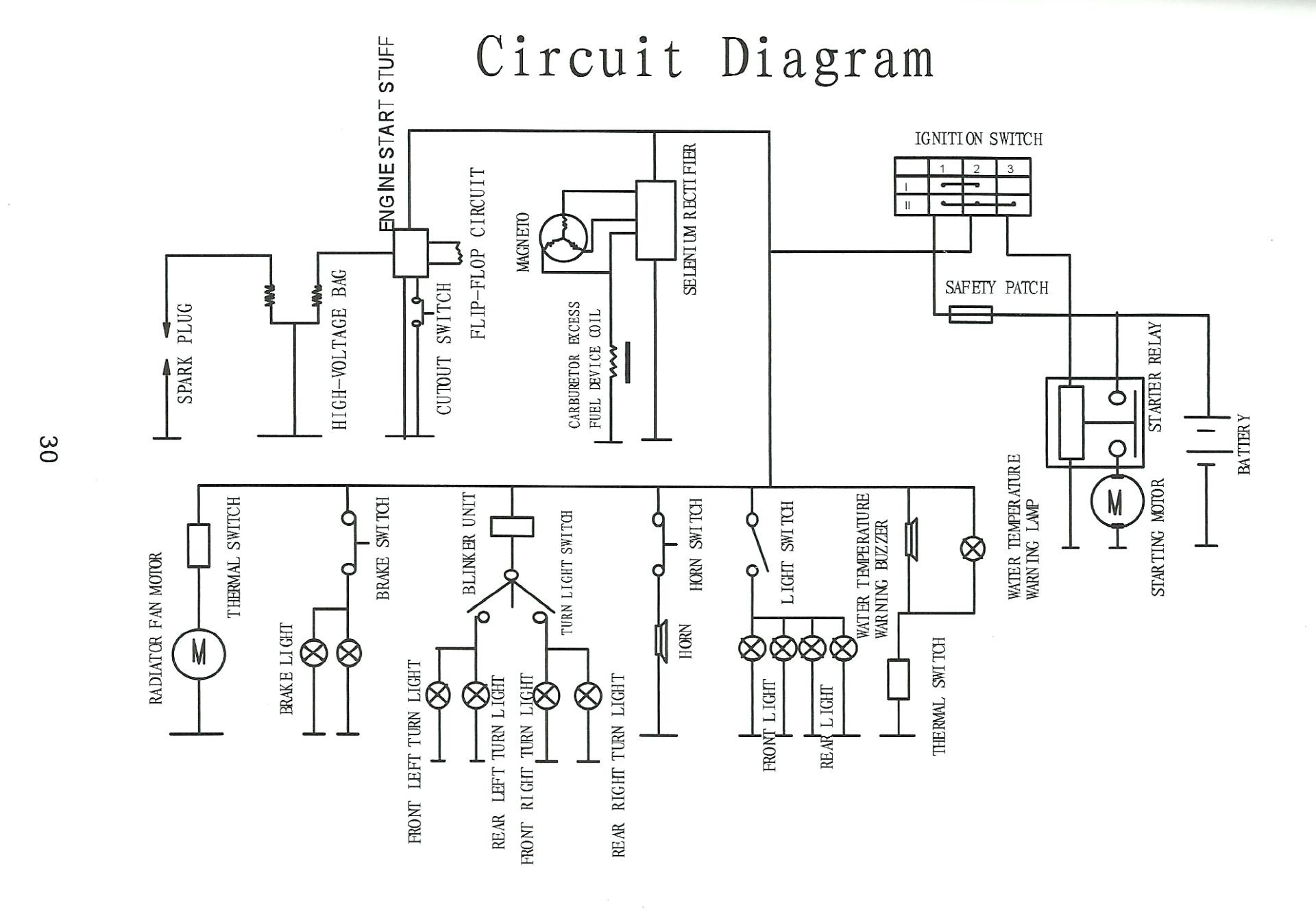 150Cc Scooter Wiring Diagram | Wiring Diagram