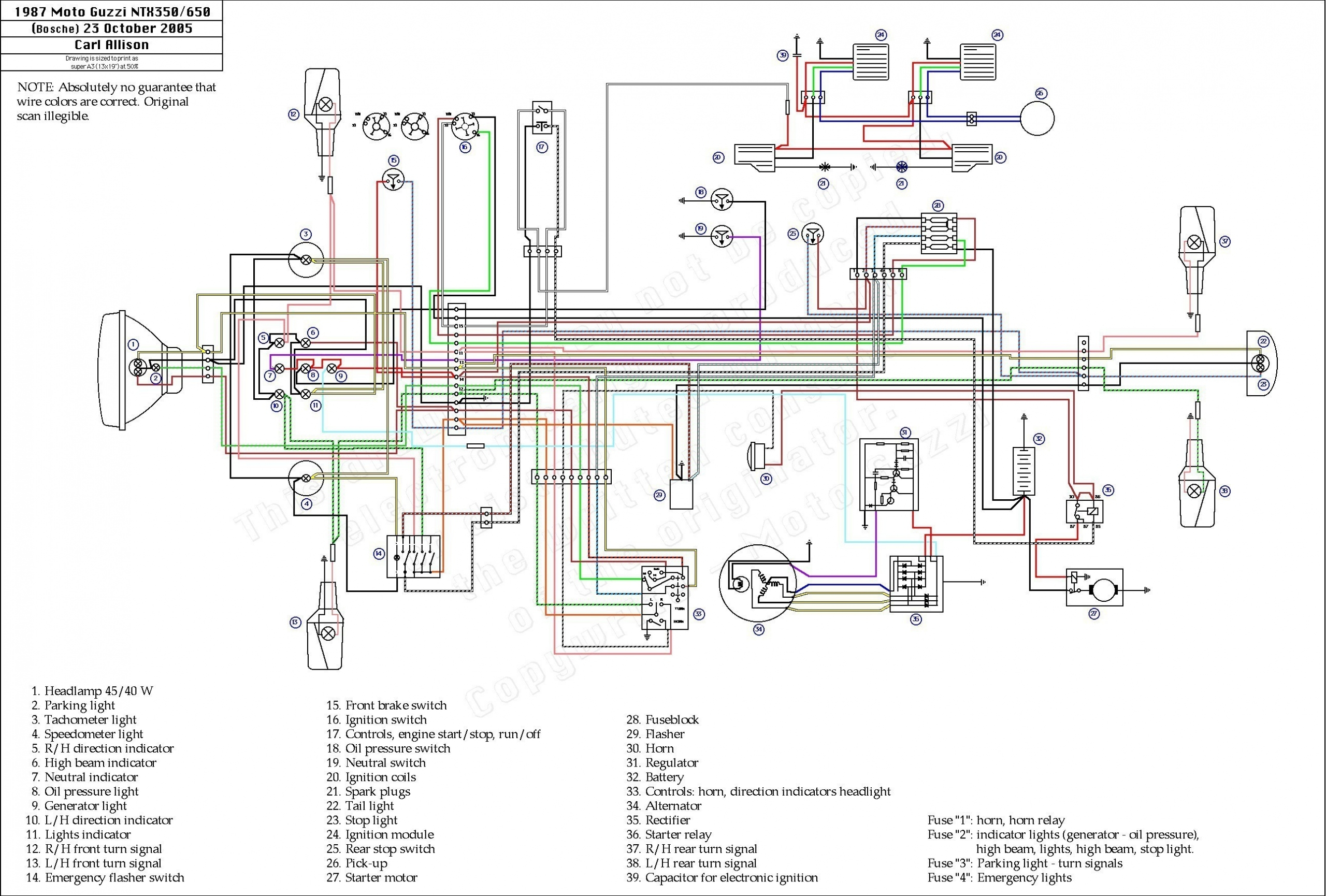 110cc Chinese Atv Wiring Harness Diagram