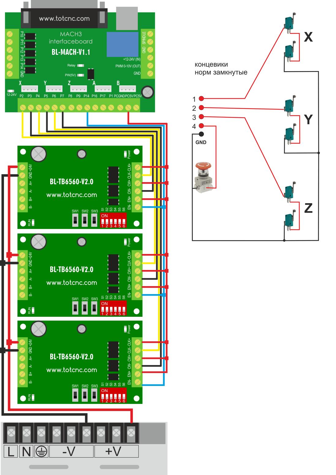 Tb6560 Wiring Diagram - Wiring Diagram Schema - Tb6560 Wiring Diagram