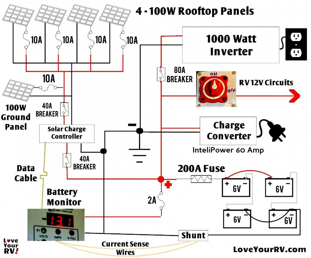 Teardrop Camper Electrical Diagram - All Wiring Diagram Data - Camper Electrical Wiring Diagram