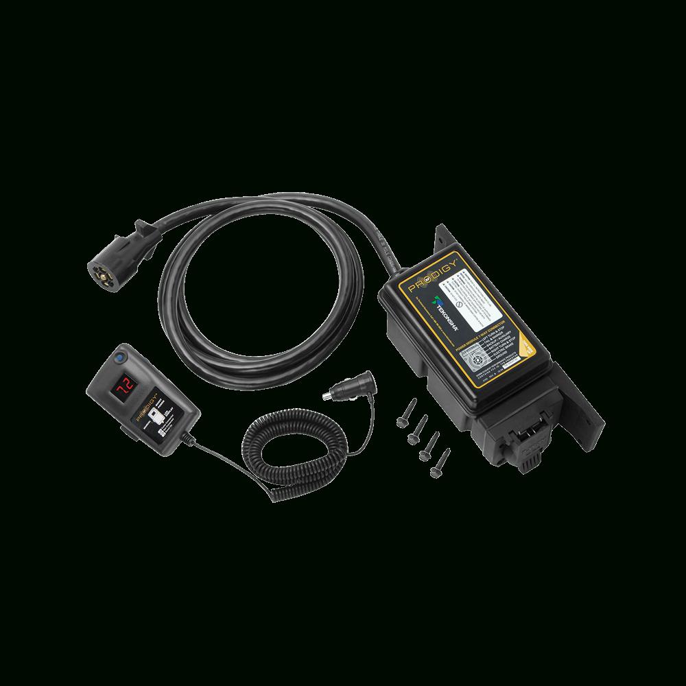Tekonsha - Trailer Brake Control - Proportional - Electric Trailer Brake Wiring Diagram
