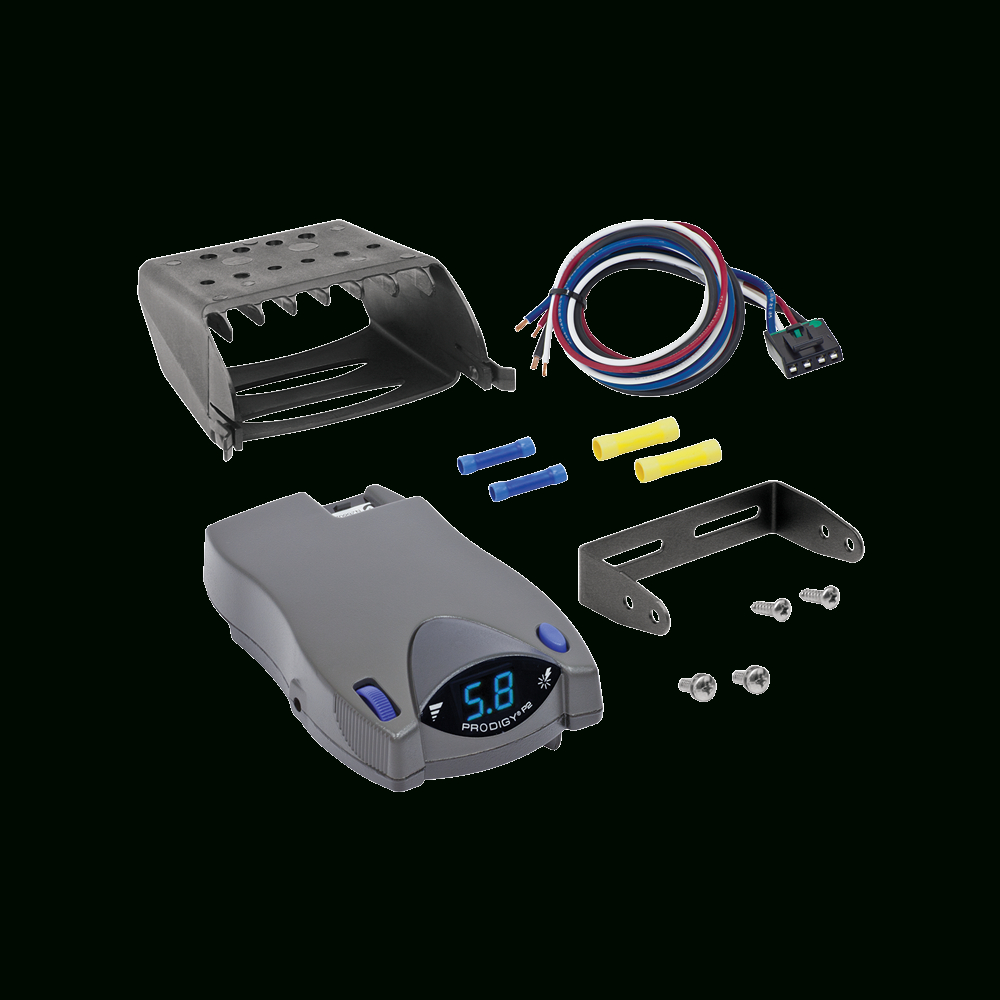 Tekonsha - Trailer Brake Control - Proportional - Trailer Brake Controller Wiring Diagram