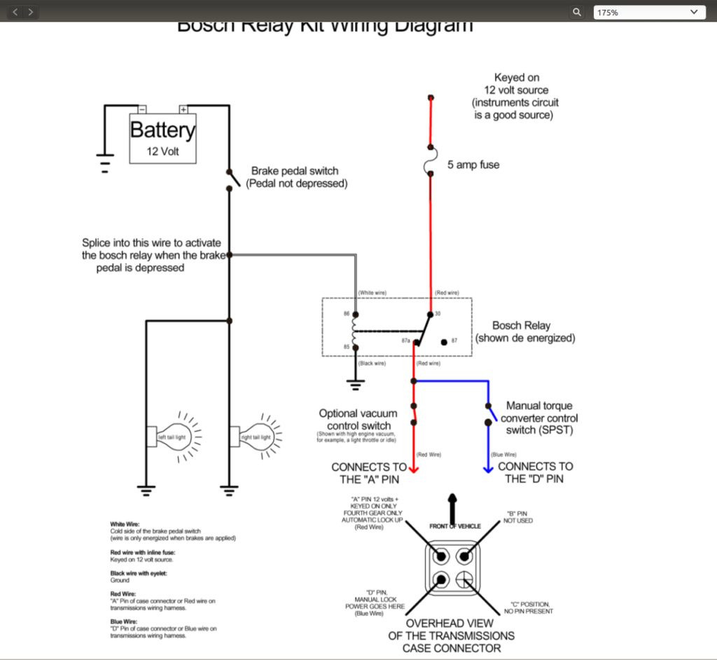 Th350 Wiring Diagram | Manual E-Books - 200R4 Lockup Wiring Diagram