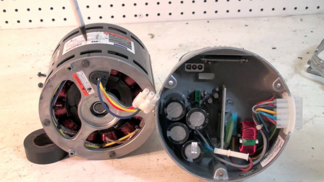 The Ecm Motor Construction And Troubleshoot - Youtube - Ecm Motor Wiring Diagram