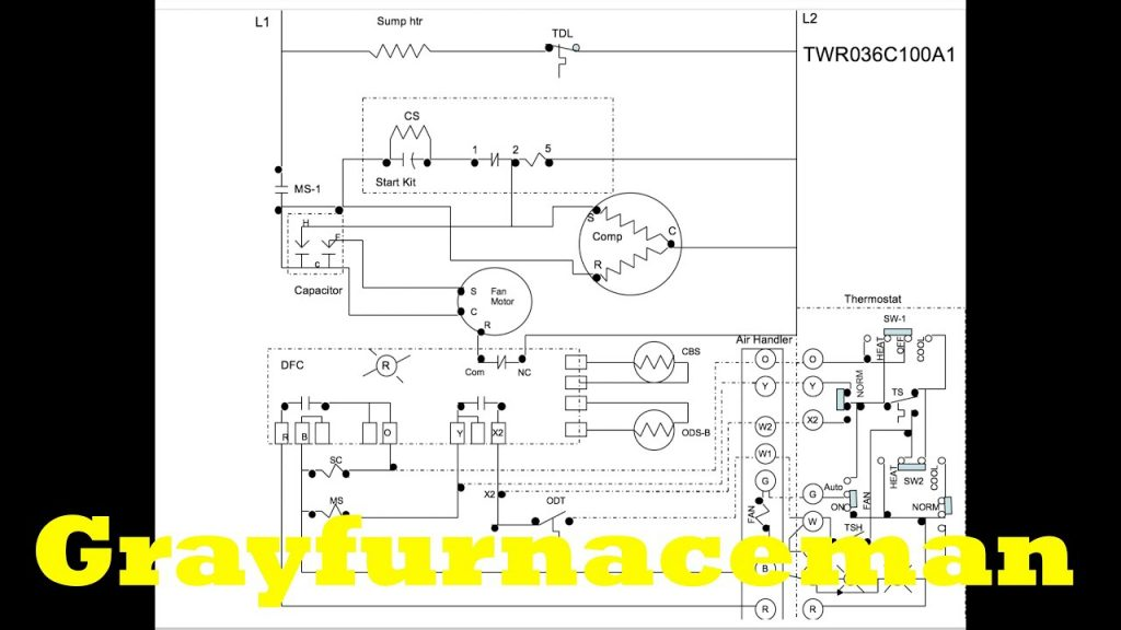 The Heat Pump Wiring Diagram  Overview - Youtube