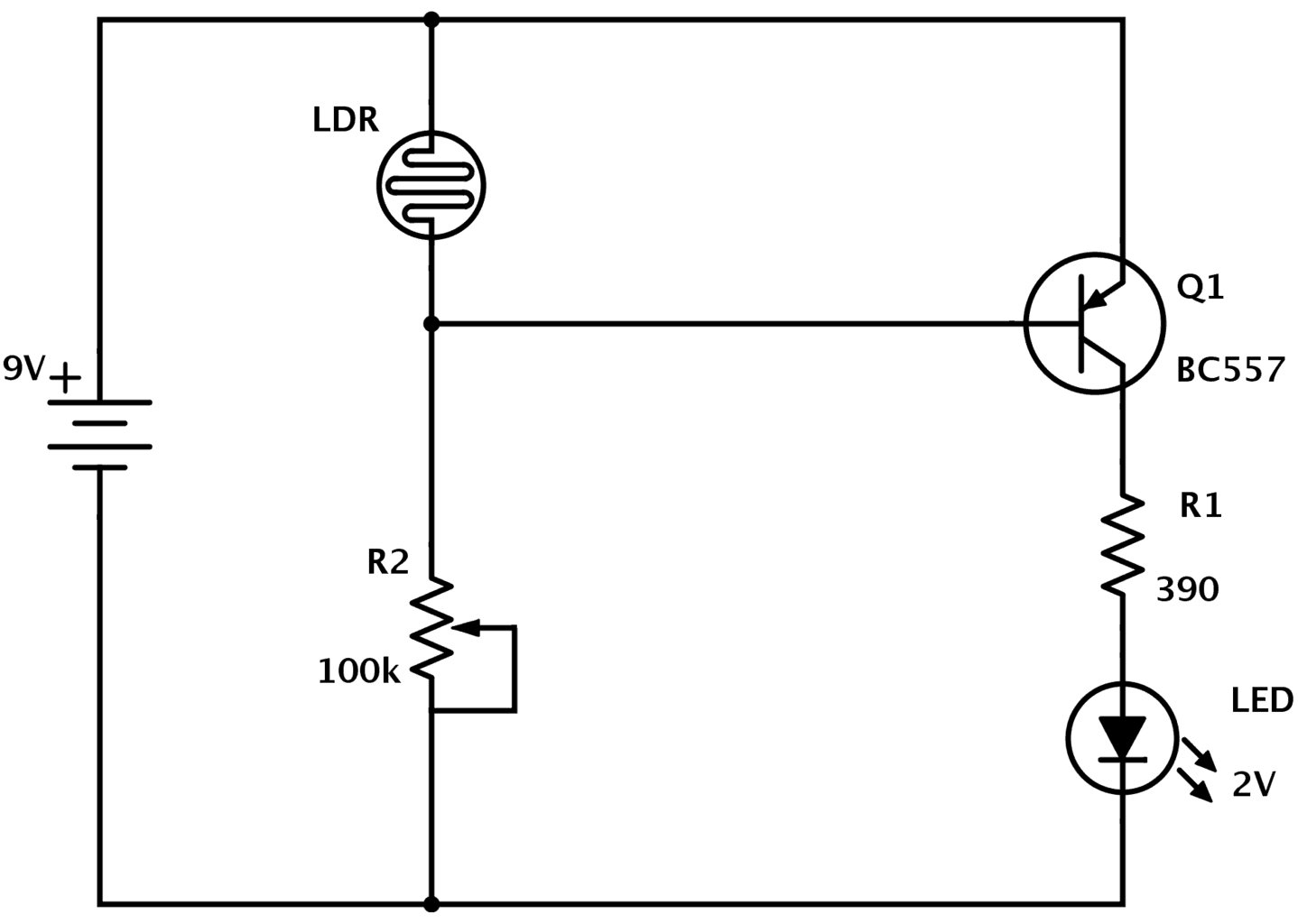 The Potentiometer And Wiring Guide - Build Electronic Circuits - Potentiometer Wiring Diagram