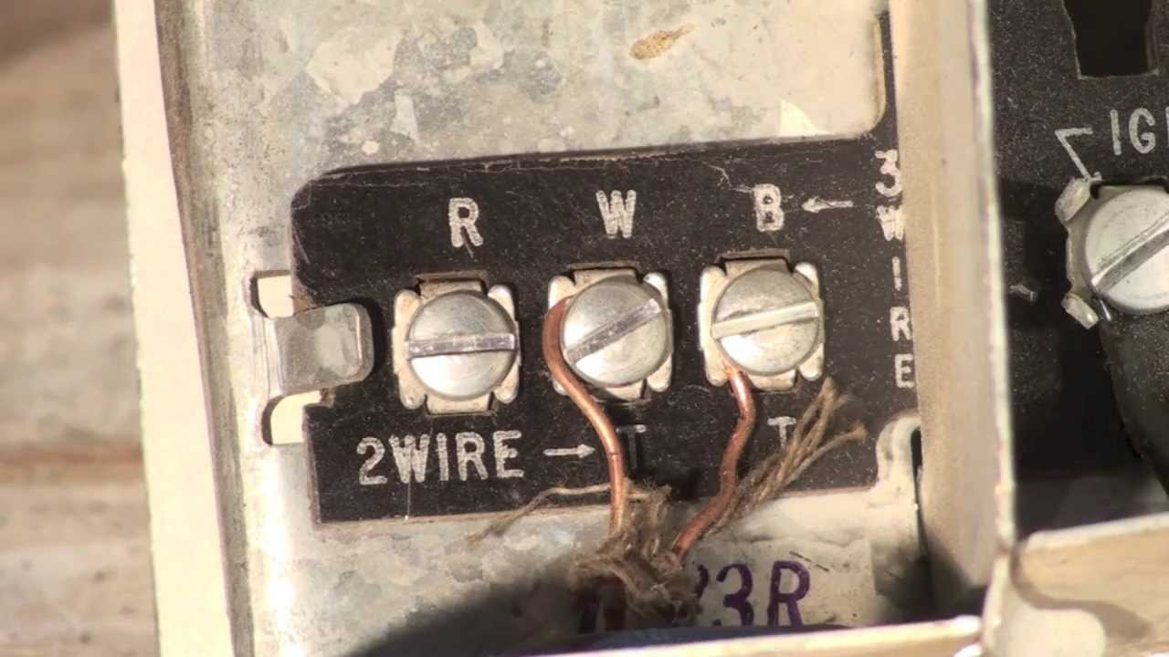 Thermostat Wiring For The Oil Furnace - Youtube - Furnace Thermostat Wiring Diagram