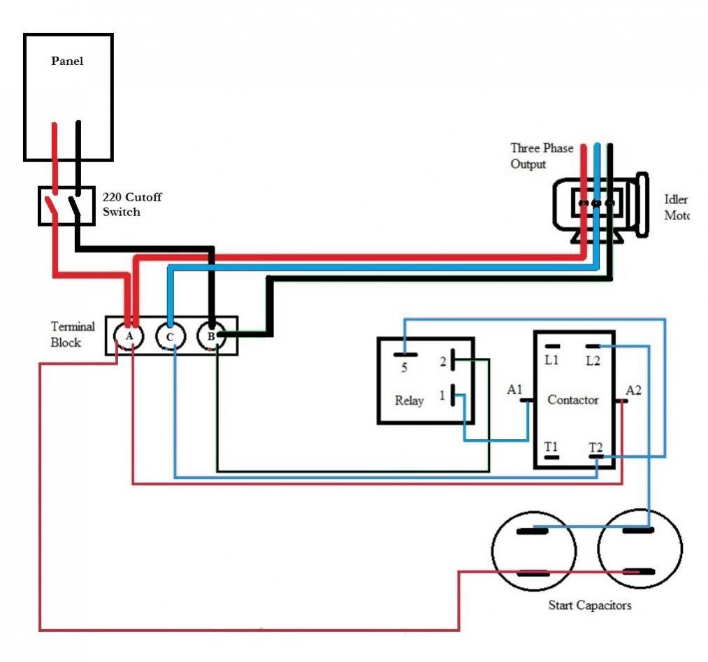 Three Phase Capacitor Wiring Diagram | Wiring Diagram - Single Phase Motor Wiring Diagram With Capacitor Start