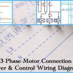 Three Phase Motor Power & Control Wiring Diagrams   3 Phase Motors Wiring Diagram