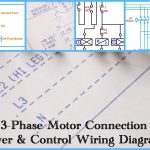 Three Phase Motor Power & Control Wiring Diagrams   Three Phase Motor Wiring Diagram