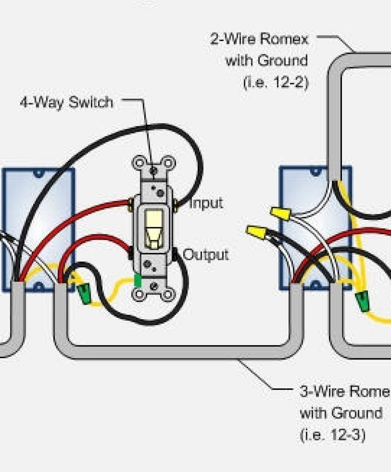 Three Way Switch Wiring Diagram Multiple Lights Unique House Wiring - 3 Way Switch Wiring Diagram Multiple Lights