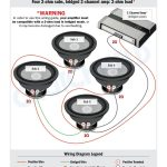 Top 10 Subwoofer Wiring Diagram Free Download 4 Svc 2 Ohm 2 Ch Low   2 Ohm Wiring Diagram