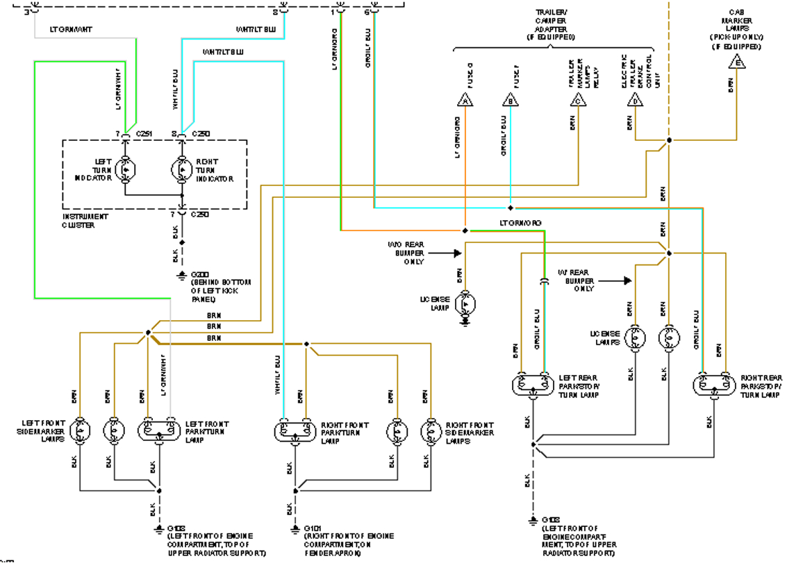 Diagram  Wiring For Trailer Lights The Ranger Station