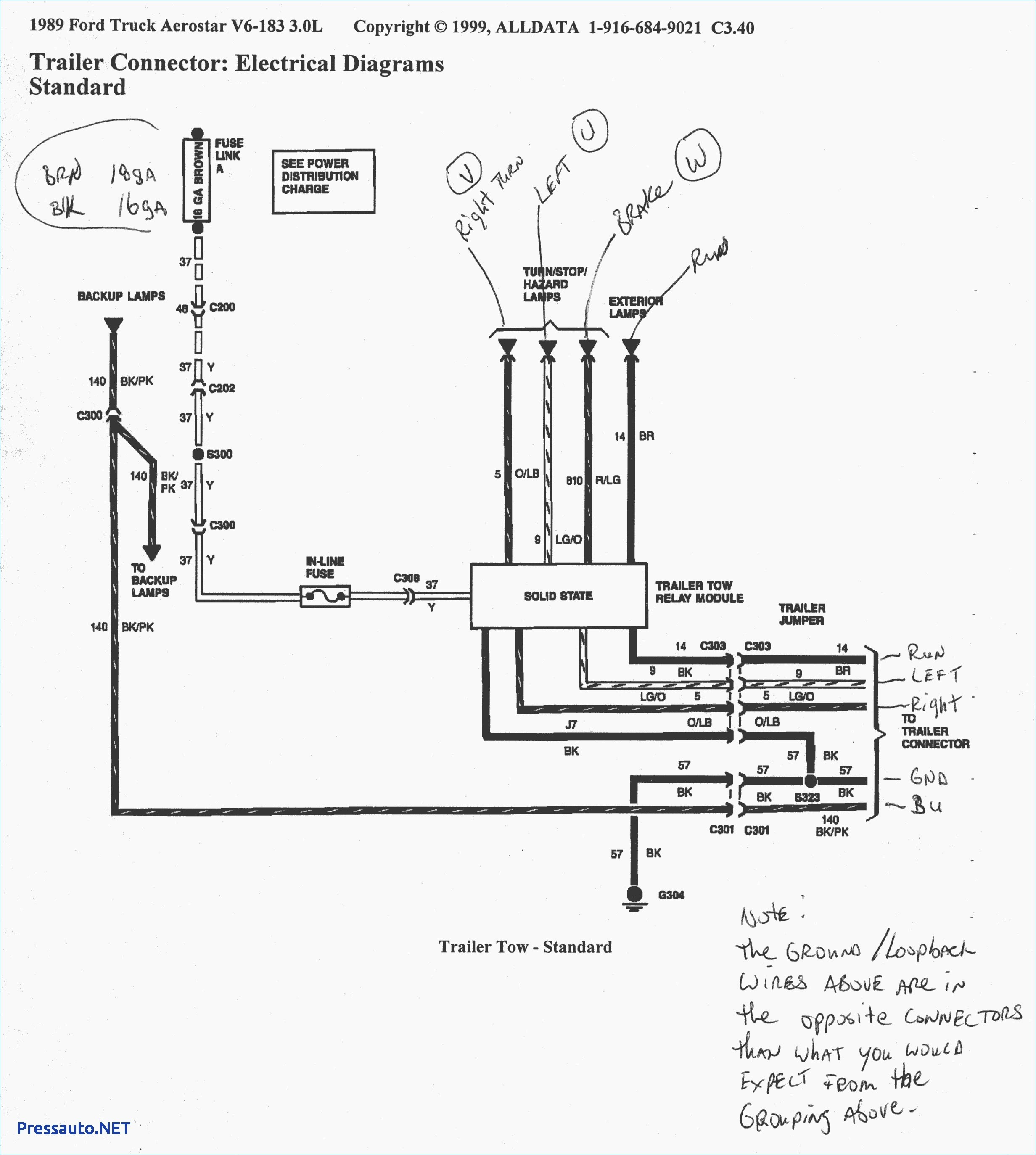 Trailer Plug Wiring Diagram 7 Way Australia Connector Ford For - Ford Trailer Wiring Diagram 7 Way