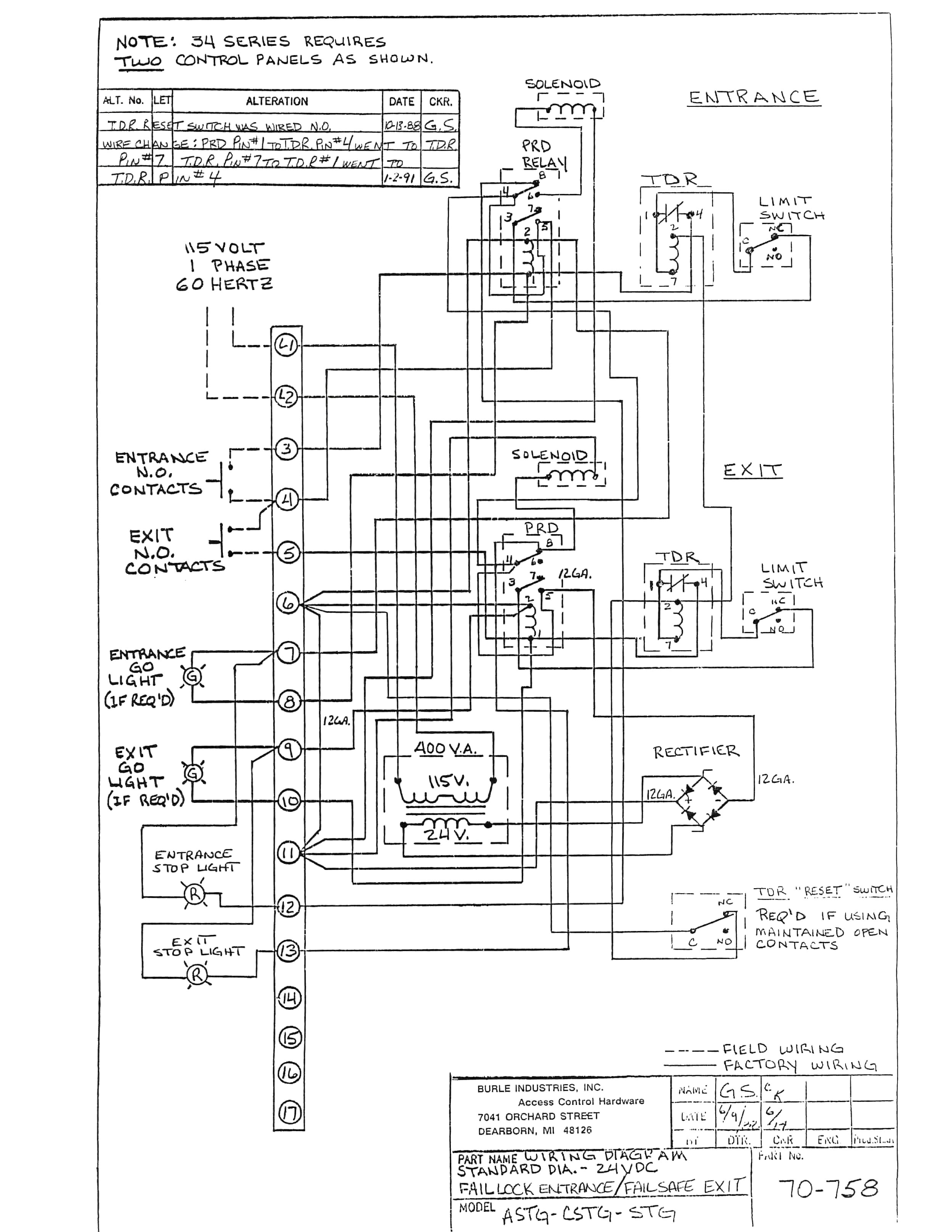 Trane Rooftop Hvac Wiring Diagrams | Manual E-Books - Trane Rooftop Unit Wiring Diagram