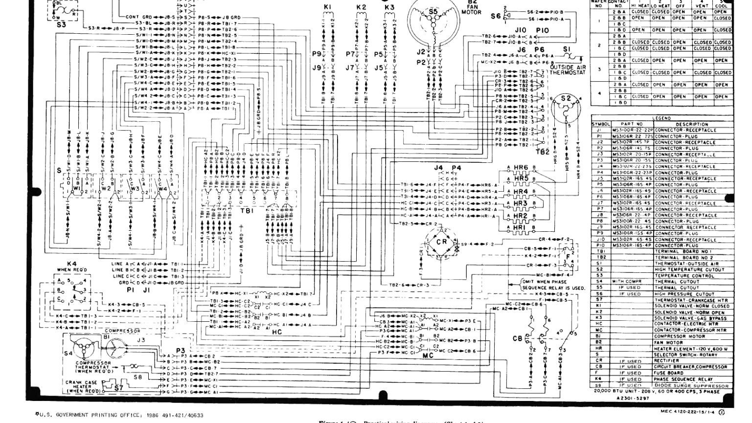 Trane Wiring Schematic | Wiring Diagram - Trane Rooftop Unit Wiring Diagram