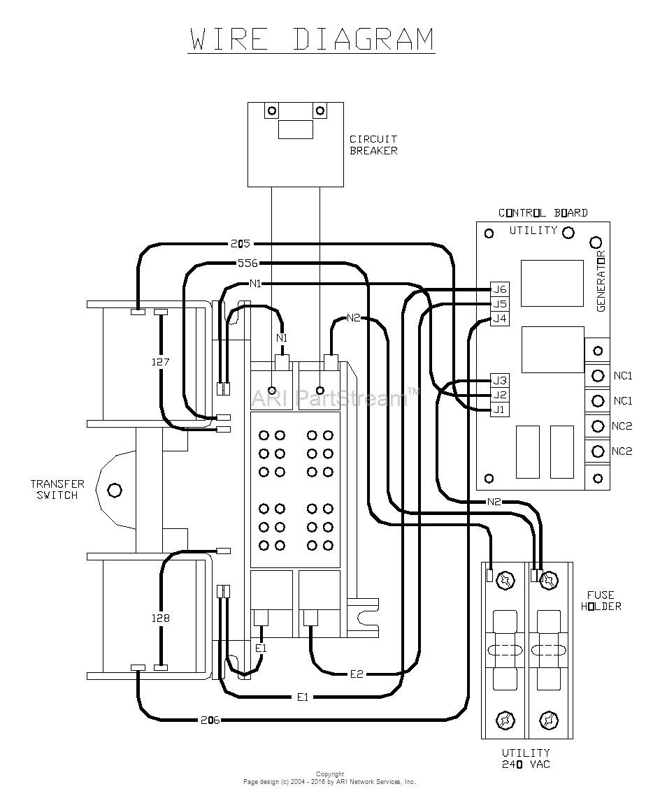 Transfer Switch Wiring Diagrams Generac | Manual E-Books - Generac 100 Amp Automatic Transfer Switch Wiring Diagram